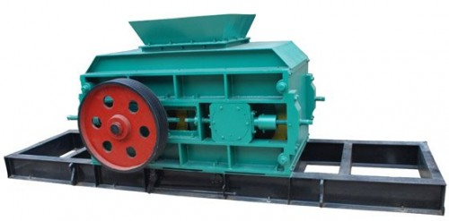 Double Roller Crusher clay brick making