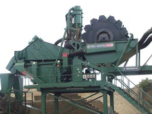 gold ore washer
