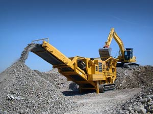 Surface mining equipment